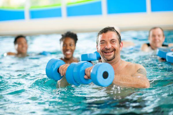 Pool Activities- Water Aerobics Class