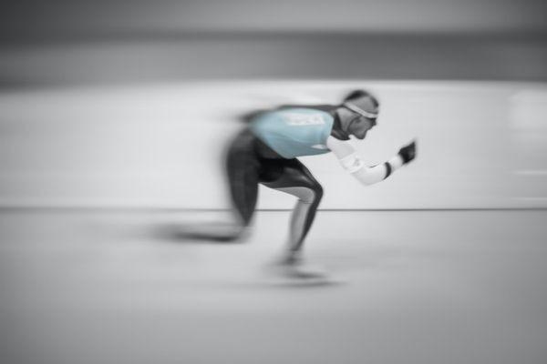 Adult Speed Skater