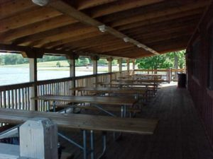 Binder Lake Deck Interior