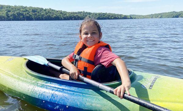 Day Camp Kayaker